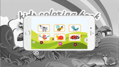Coloring books (Animals2) : Coloring Pages & Learning Educational Games For Kids Free! screenshot two