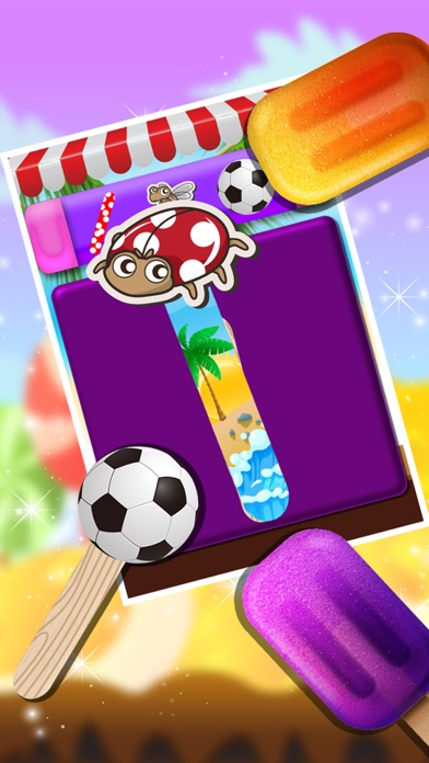 Ice Candy Maker – Make icy & fruity Popsicle in this cooking chef game screenshot three