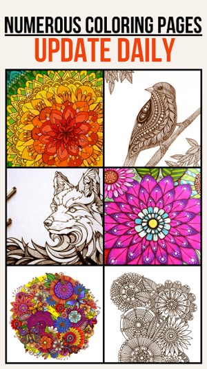 Colorfit - Adult Coloring Book - Secret Garden on the App Store