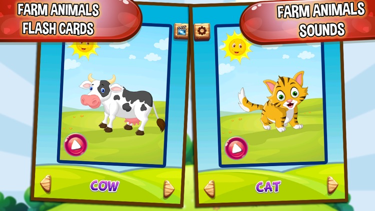 Learn Farm Animals For Kids Animals Farm For Kids By Himanshu Shah