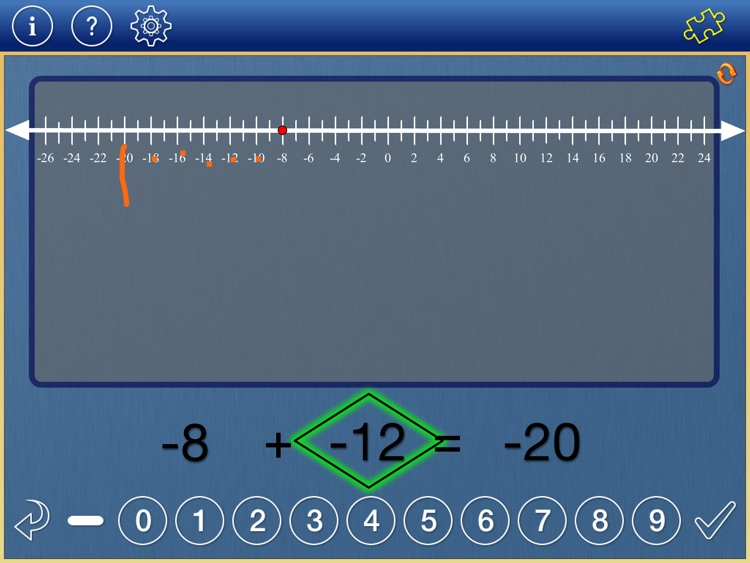 Number Line Math 3-6 screenshot-1
