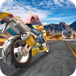 Highway Traffic Bike Escape 3D - Be a Bike Racer In This Motorcycle Game For FREE