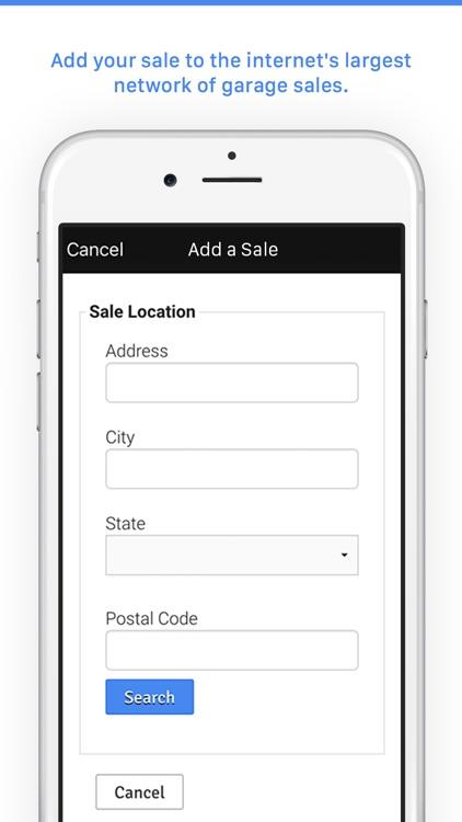 Garage Sales by Map - Free screenshot-3