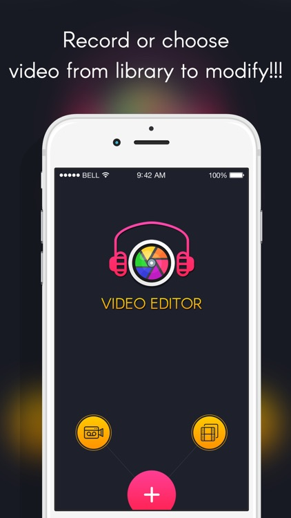 Video Editor : movie maker, photo to video maker, Trim Video, Add videos to music & Video filter for Social