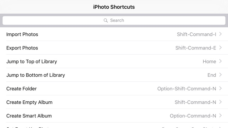 Shortcut: iPhoto Edition screenshot-3