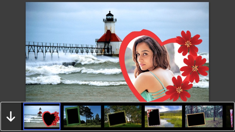 Scenery Photo Frames - Creative Frames for your photo