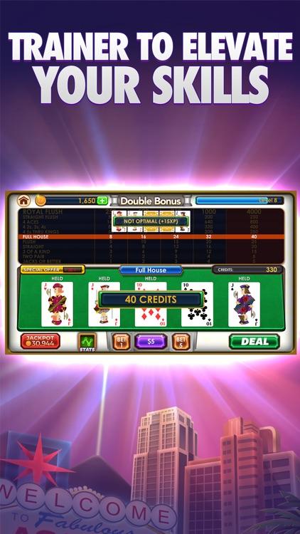 Video Poker VIP - Multiplayer Heads Up Free Vegas Casino Video Poker Games screenshot-3