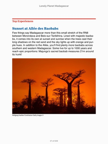 lonely planet madagascar travel guide