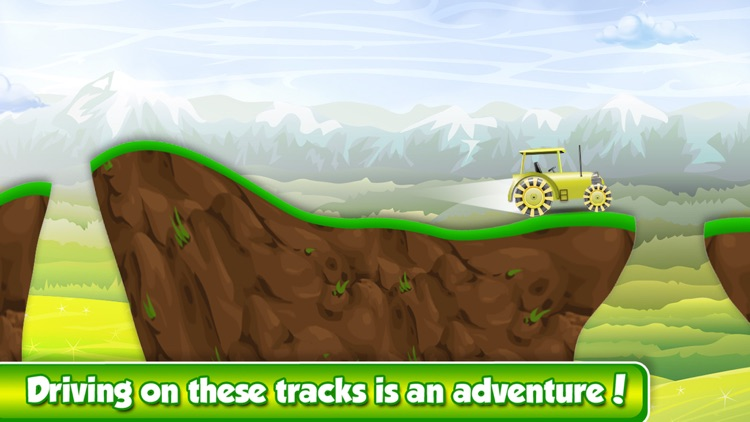 Mega Mud Tractor Race - Hillbilly Rally in Rocky Farm Mountains screenshot-4