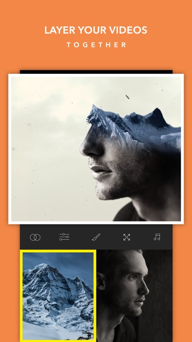 Video BlendEr -Free Double ExpoSure EditOr SuperImpose Live EffectS and OverLap MovieS Screenshot