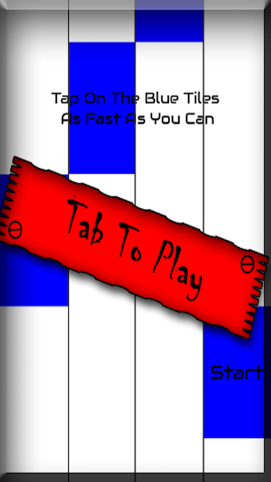 Blue Piano Tiles - Don't Tap The White Tile and free trivia
