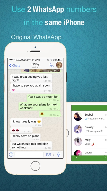 Dual Messenger for WhatsApp - Chats
