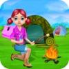 キャンプ 子供のための休暇  サマーキャンプ、子供と女の子のためのこのゲームではゲームやキャンプの活動 - 無料