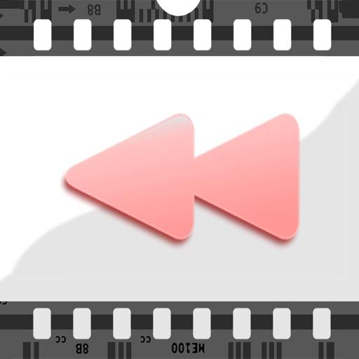 Video Reverse: Free Reverser App to rewind,backward videos for vine & instagram iOS App