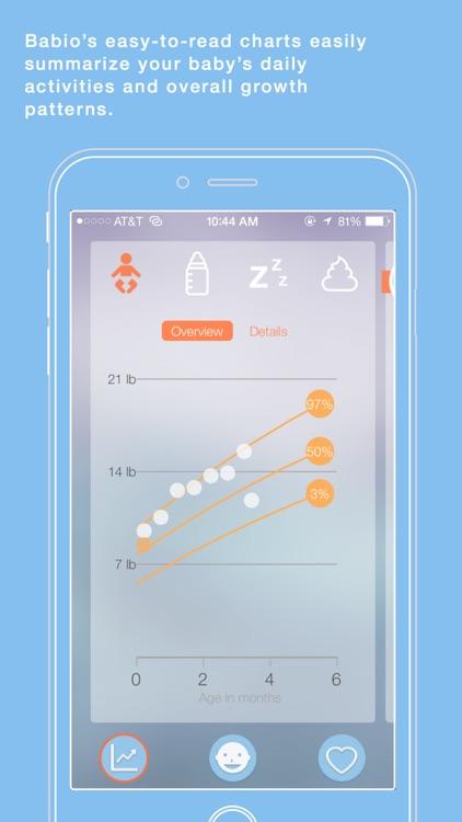 Babio - Baby Activity Tracker & Reminder, Simplified screenshot-4