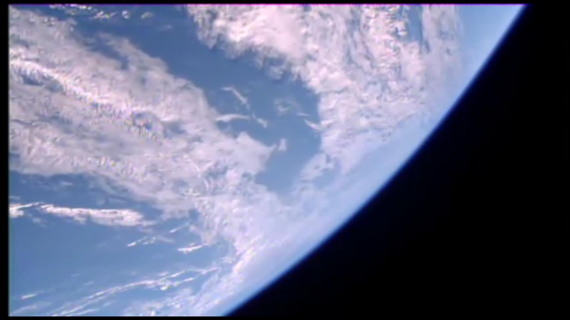 ISS live feed screenshot 1