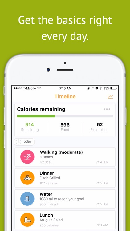 Magra - Calorie Counter, Pedometer and Social Fitness Community screenshot-0