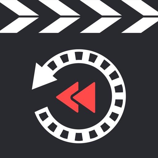 Video Reverse - Best Crop & Revert Time Effects Lite iOS App