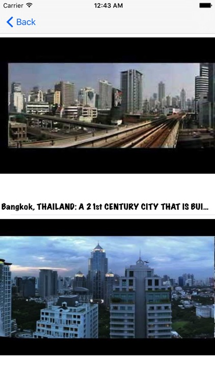 Bangkok City Guide Video