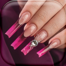3D Nails Game for Girls – Learn How To Create Cute Nail Designs in Virtual Manicure Salon