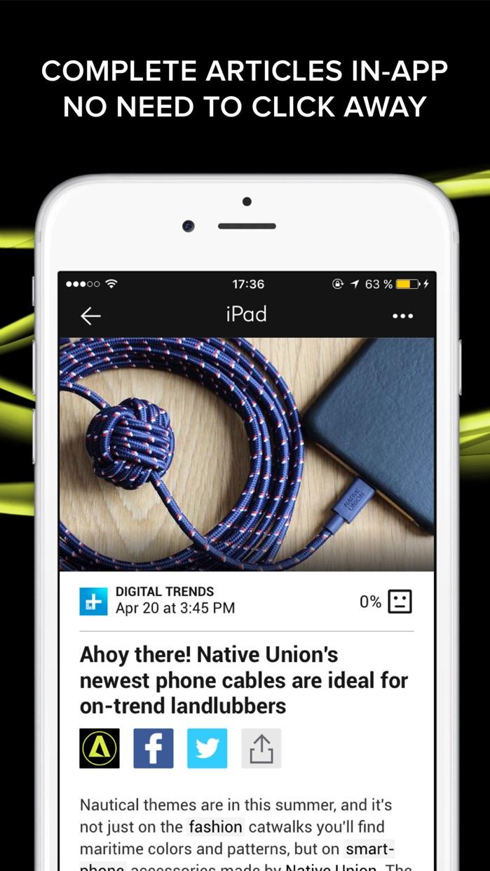 Appy Geek – tech news Screenshot