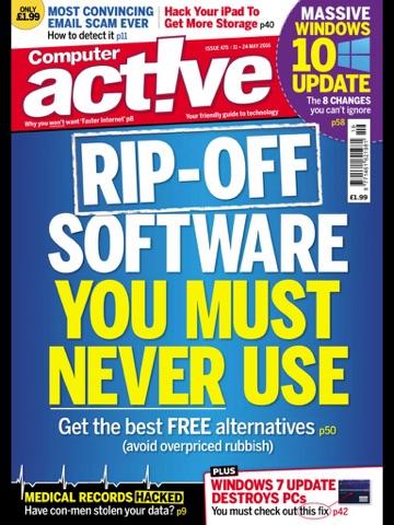 Скриншот из Computeractive Replica App