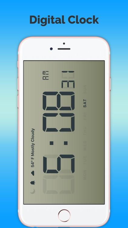 Digital Weather Clock-Free screenshot-3