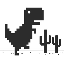 Steve Jumping : A widget game with dinosaur 8 bit on risky road!