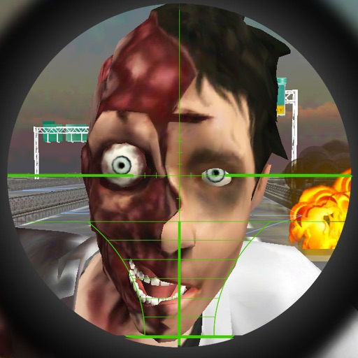 A Zombie Sniper - Highway War Free iOS App
