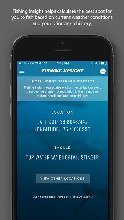 Fishing Insight - Intelligent Fishing Logbook