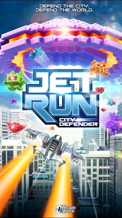 Jet Run: City Defender screenshot-4