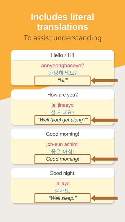 Hello Pal Phrasebook: Learn How To Speak Korean screenshot-3