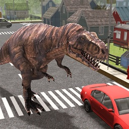 Dinosaur Simulator Trex Destruction Jurassic Forest & City Hungry Dino Carnage