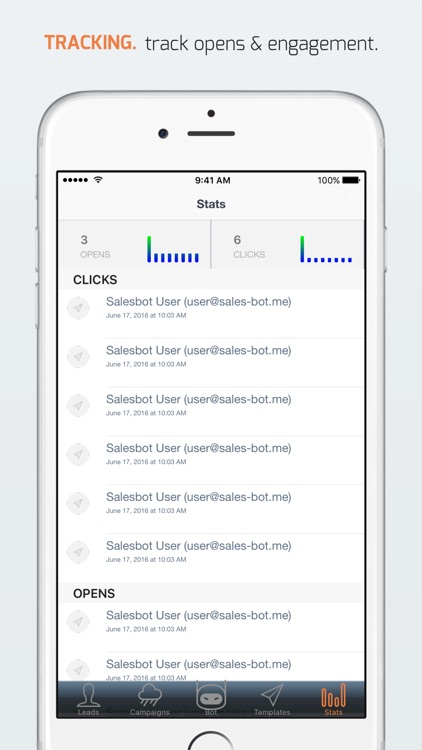 SalesBot - lead capture & email/sms drip campaigns screenshot-4