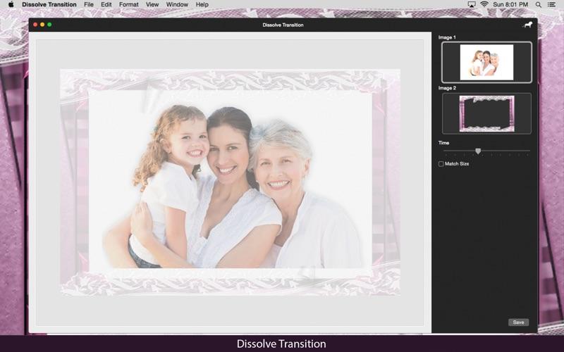 Dissolve Transition: Image blend effect screenshot 4