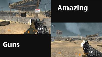 Real Trigger FPS Weapons Shooting Test : Desert Range Mission Game screenshot three