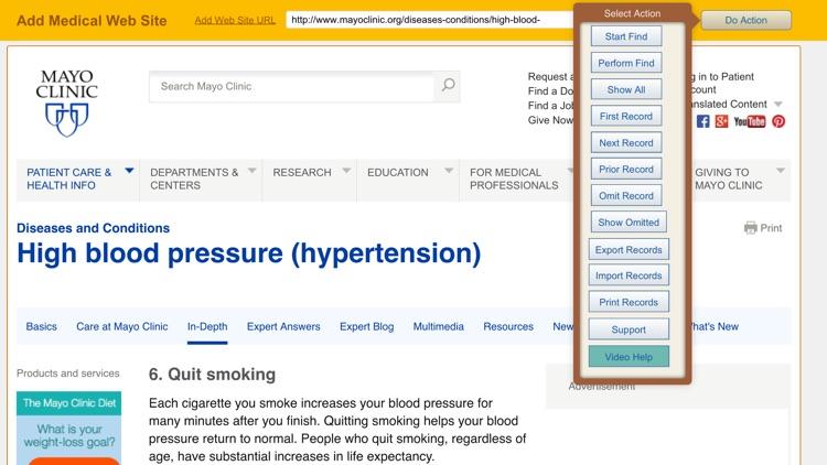 Blood Pressure Logbook screenshot-4