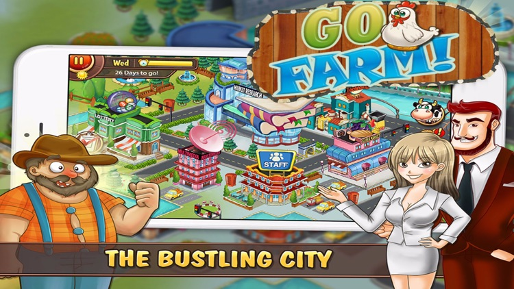 Go Farm PRO! Harvest in the blue moon : The business of farming simulation screenshot-3
