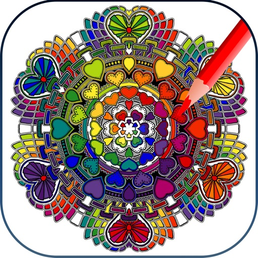 Colorment: Free Stress Relieving Mandala Coloring Books
