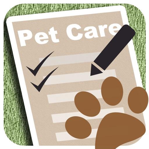 Pet Care Log