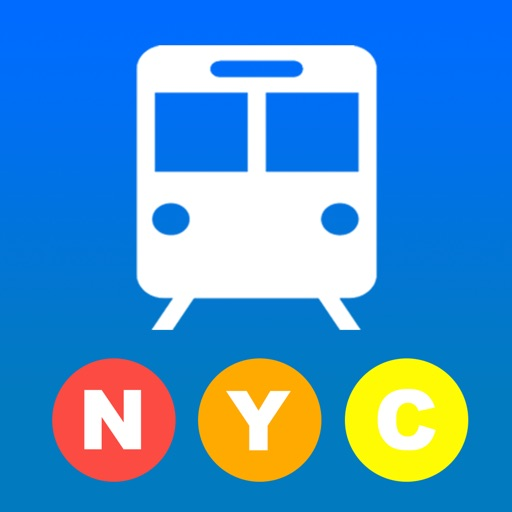 NYCSUB: New York subway and bikes offline icon