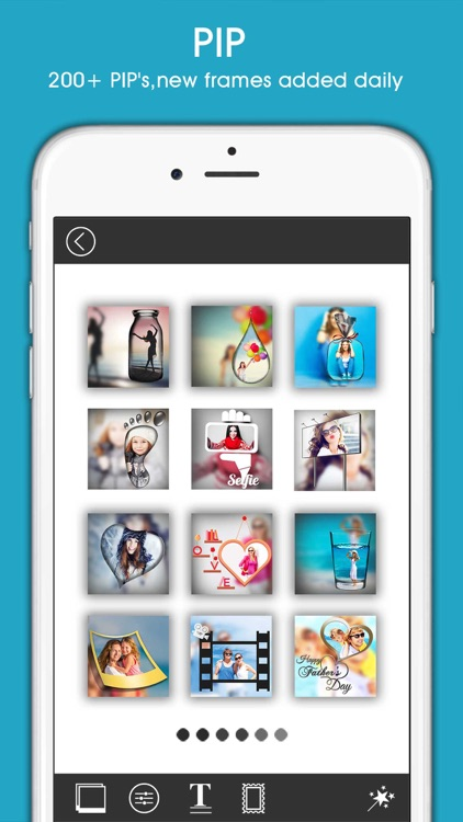 PIP Magic - selfie camera editor with frame collage maker