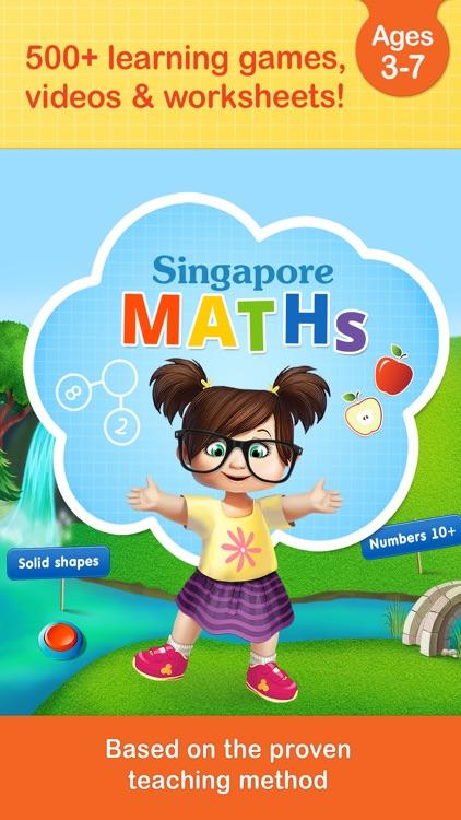 #1 Math Games App for Kids in Preschool & Kindergarten HD