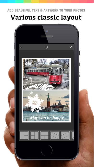Collage 360 - photo editor, collage maker & creative design App ScreenShot1