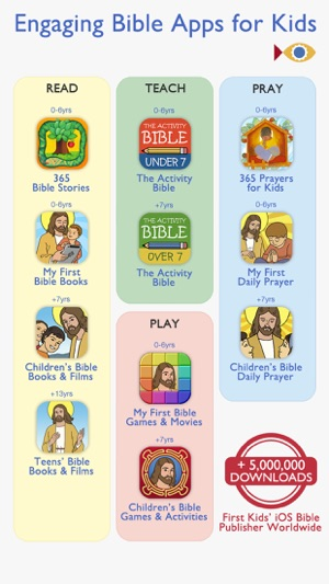 Children's Bible Games for Kids, Family and School on the