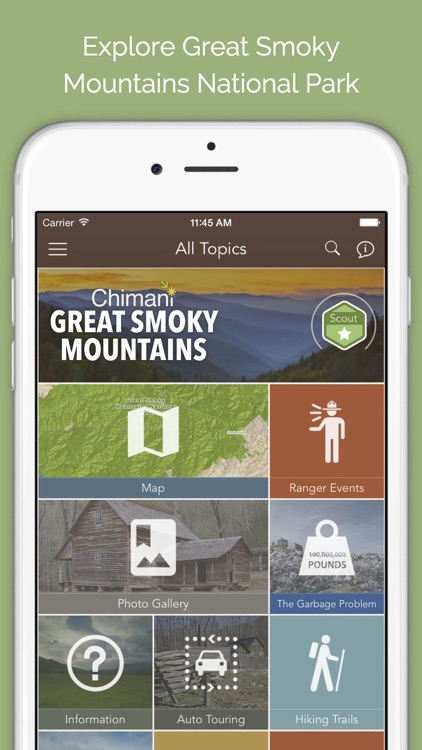 Great Smoky Mountains: Chimani