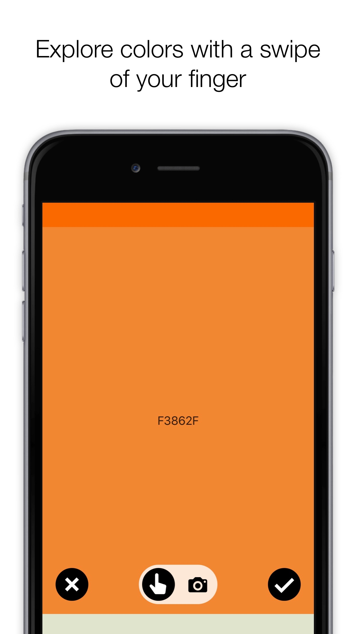 Screenshot do app Colordot by Hailpixel - A color picker for humans