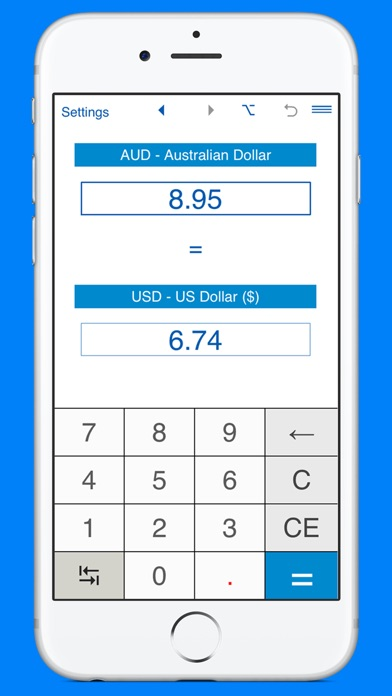 Screenshot 6 For Us Dollars To Australian Converter