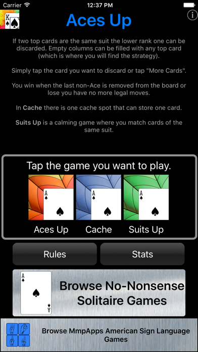 Aces Up - Solitaire