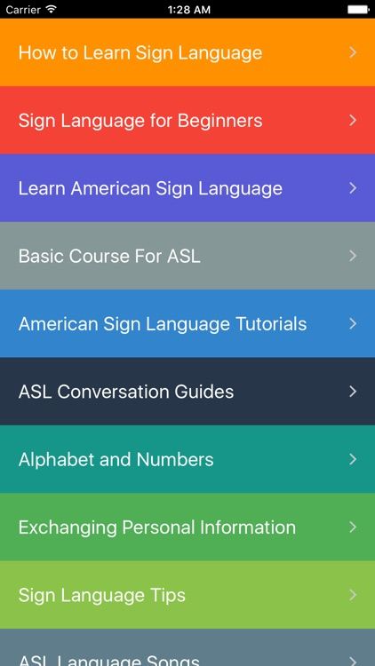 American Sign Language Guide